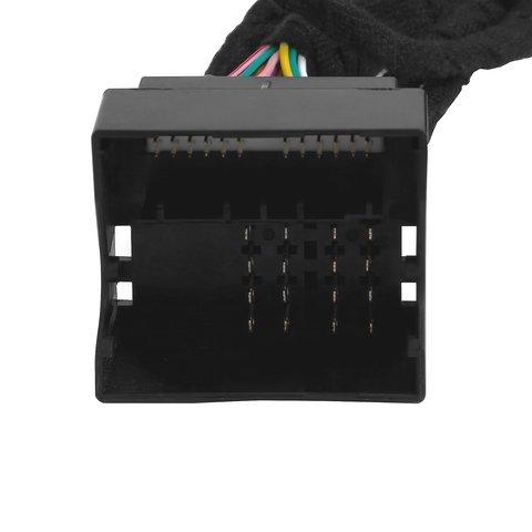 Адаптер подключения камеры заднего и переднего вида для Mercedes-Benz с системой NTG4.5 Превью 5