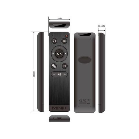 Air Mouse Remote Control for Android TV Boxes Minix Neo M1 Preview 1