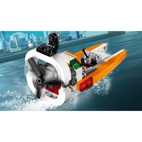 Конструктор LEGO Creator Дрон-разведчик 31071 Превью 3