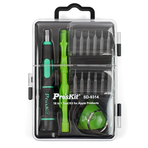Screwdriver Set for Apple Products Pro'sKit SD-9314 - Preview 4