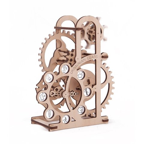 Mechanical 3D Puzzle UGEARS Dynamometer Preview 1